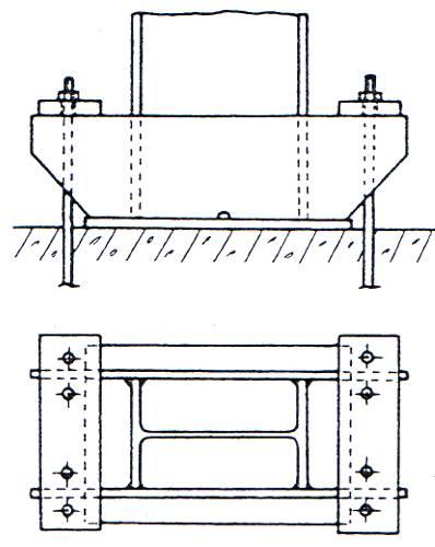 les pieds de poteaux. Black Bedroom Furniture Sets. Home Design Ideas